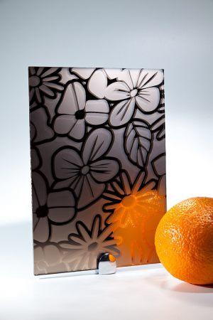 "Зеркало ""Цветы"" бронза Чита"