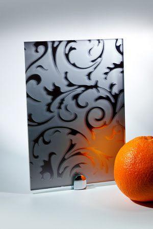 """Зеркало """"Барокко"""" матовое графит Чита"""