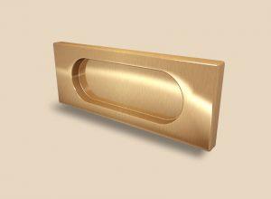 Ручка Золото глянец прямоугольная Италия Чита
