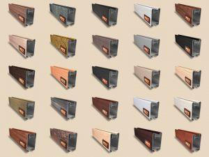 """Алюминиевый ламинированный профиль """"HOLZ"""" для шкафов купе и межкомнатных перегородок Более 100 цветов Чита"""