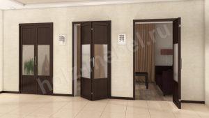 Двери гармошка Чита