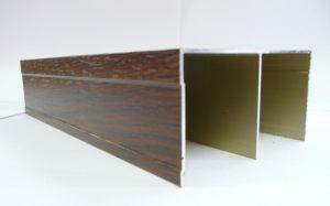 Направляющая верхняя для шкафа-купе ламинированная  Чита