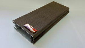 Вертикальный шпонированный профиль шириной 80 мм Чита