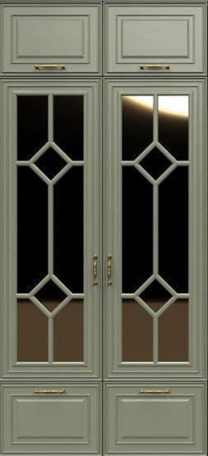 Фасад с фигурной филенкой эмаль Чита