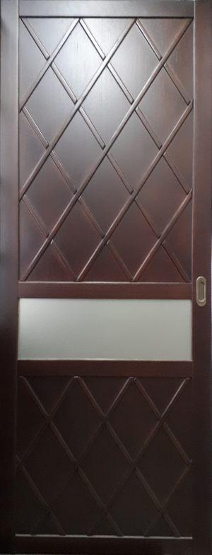 Вставка в дверь с фигурной филенкой Чита