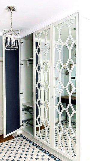 Двери с фигурной филенкой, эмаль Чита