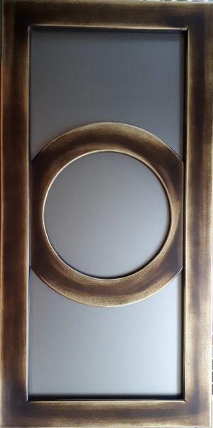 Рамочный фасад с радиусными элементами 4 категории сложности Чита